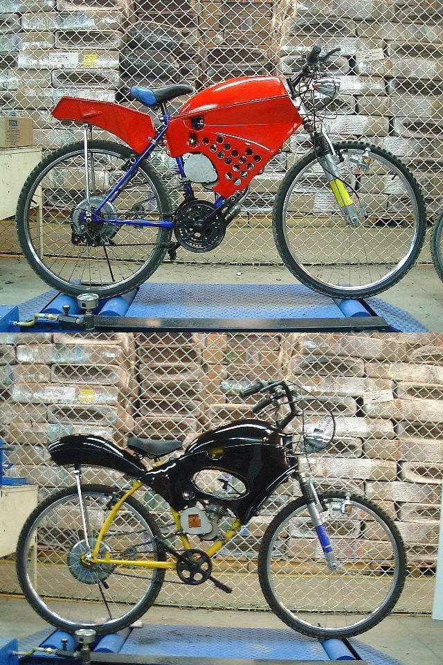 Carcasas para ciclomotor