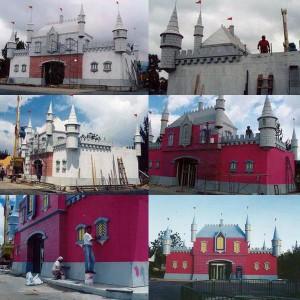 Castillo de Cristal, Salitre Mágico