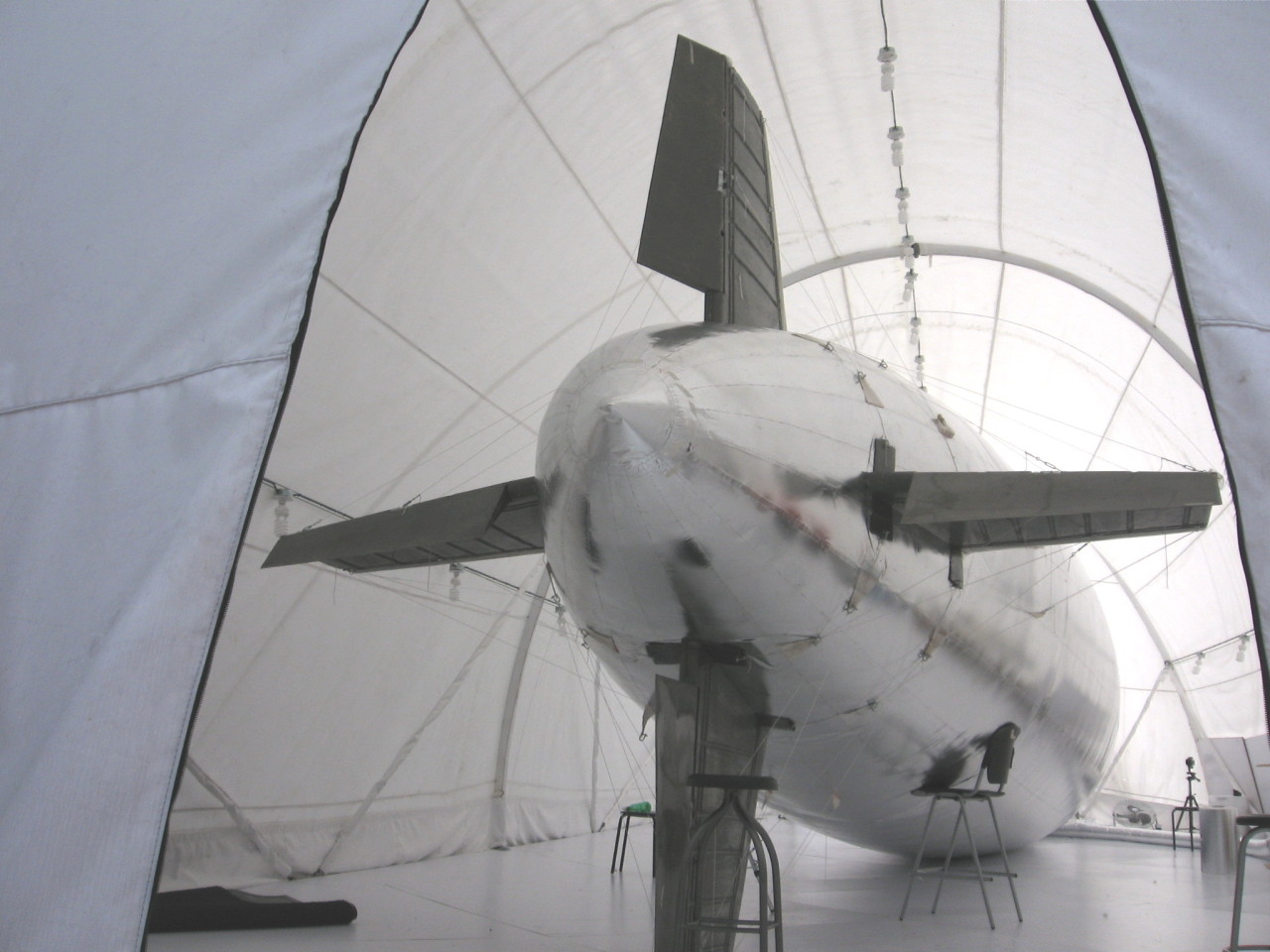 Alas para zeppelin, Proyecto Gaviotas