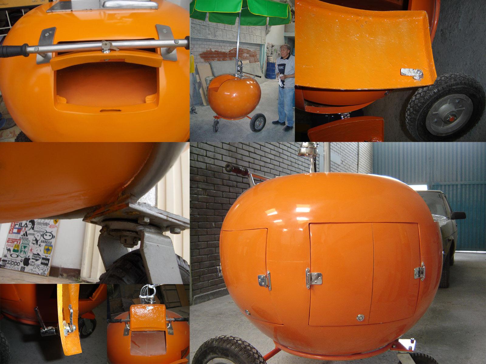 Carro para Jugo de Naranja