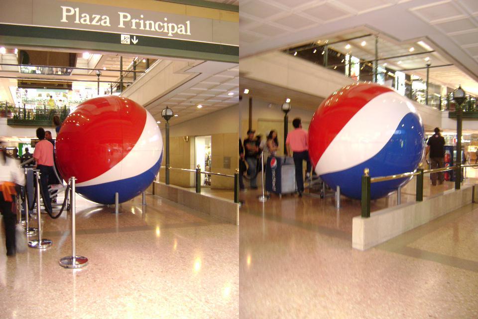 Esfera Pepsi