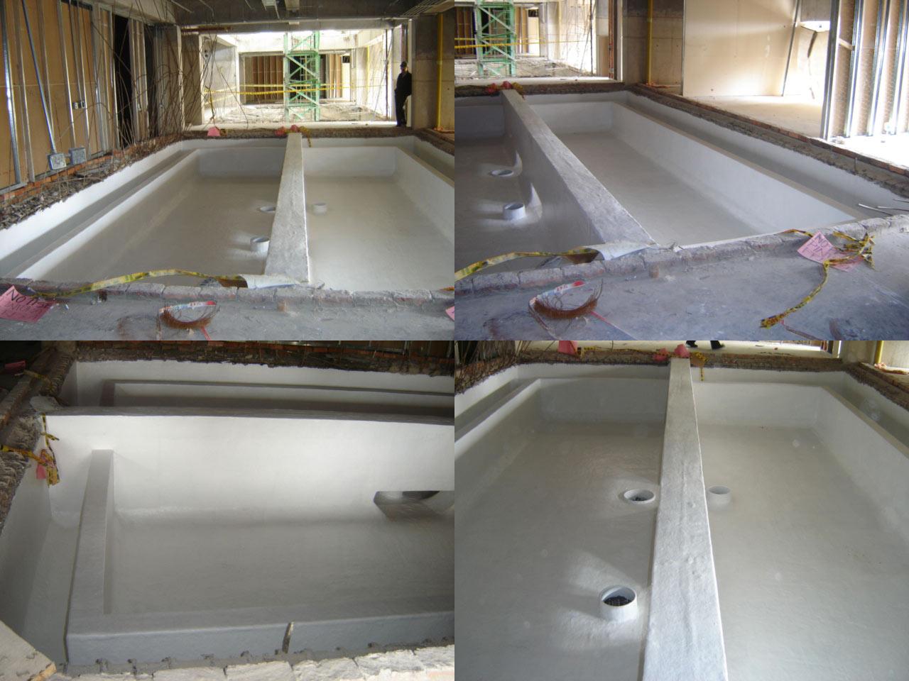 Recubrimiento de tanque de concreto