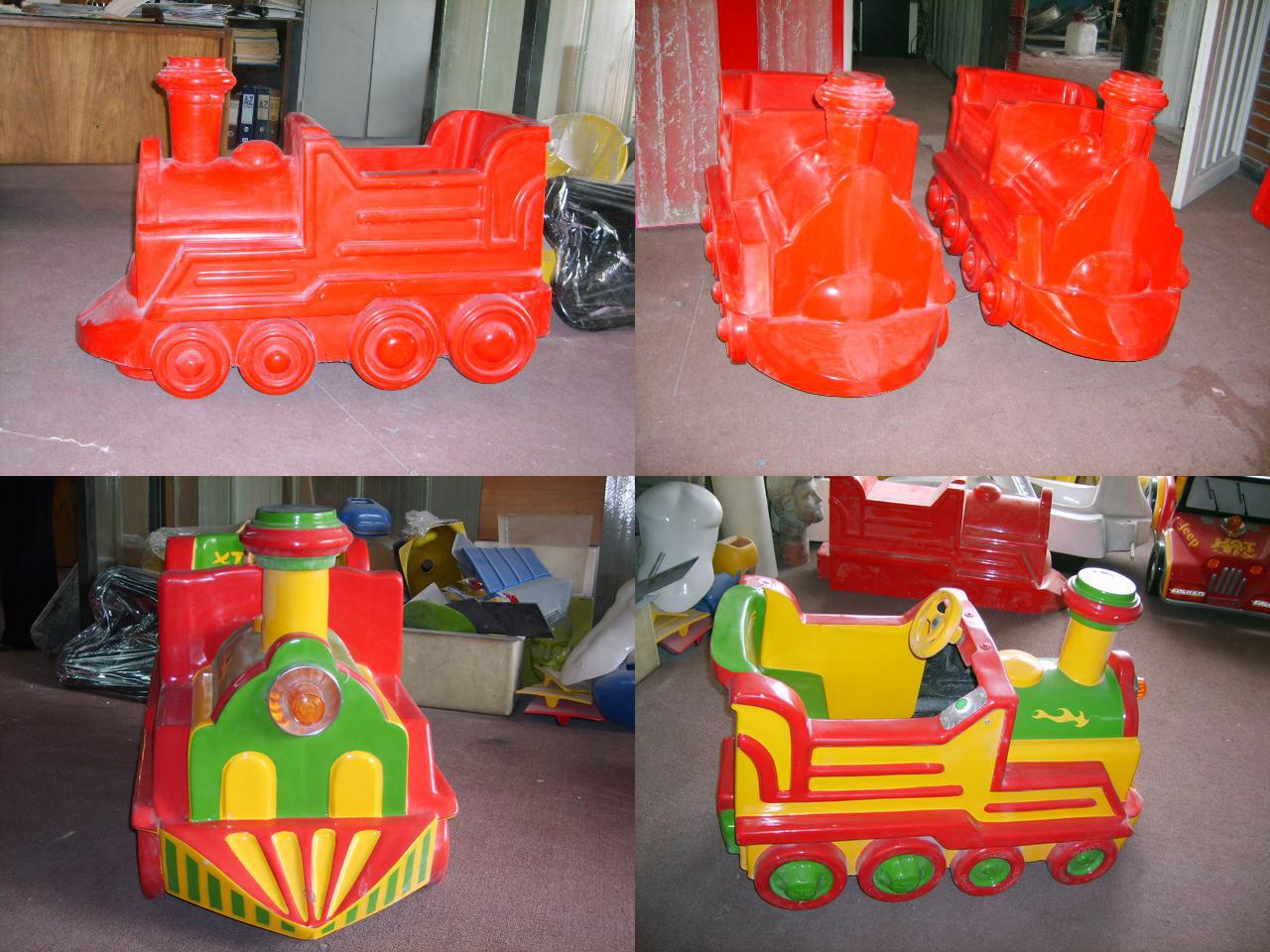 Locomotora para juego