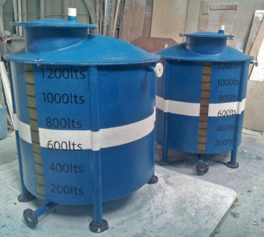 Tanque de almacenamiento - tratamiento de agua